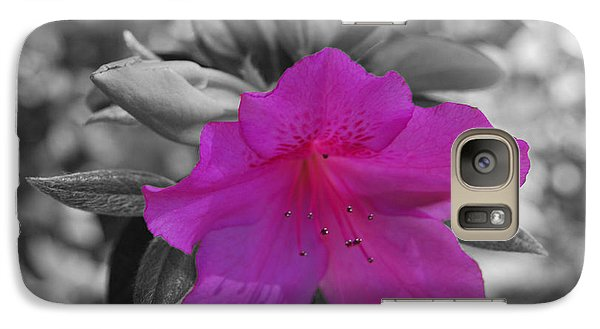 Galaxy Case featuring the photograph Pink Flower 2 by Maggy Marsh