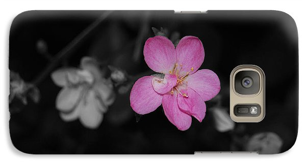 Galaxy Case featuring the photograph Pink Flower  by Maggy Marsh