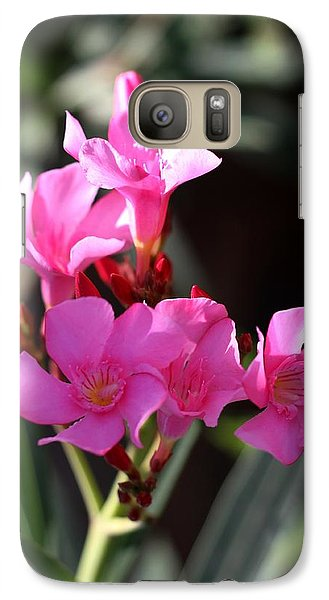 Galaxy Case featuring the photograph Pink Flower  by Ramabhadran Thirupattur