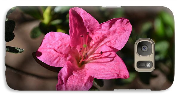 Galaxy Case featuring the photograph Pink Flower by Tara Potts