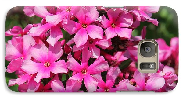 Galaxy Case featuring the photograph Pink Flowers by Bill Woodstock