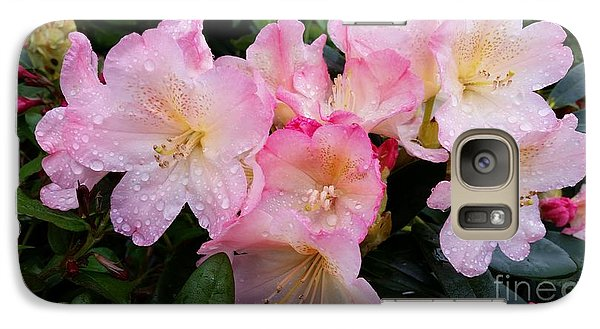 Galaxy Case featuring the photograph Pink Flowers by Rose Wang