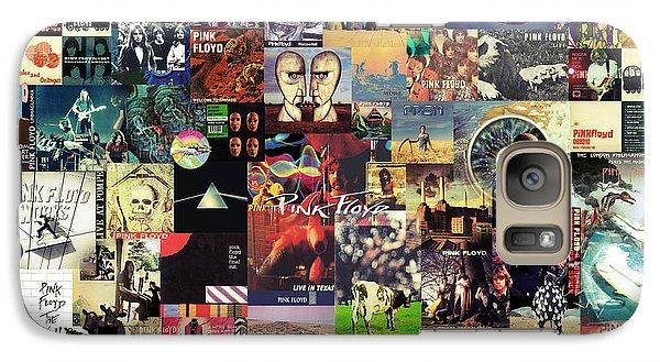 Pink Floyd Collage II Galaxy S7 Case