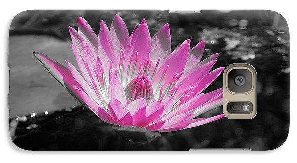 Galaxy Case featuring the photograph Pink Glow by Chad and Stacey Hall