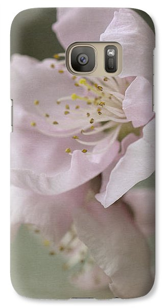Pink Is The Color Of Happiness Galaxy S7 Case by Linda Lees