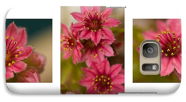 Galaxy Case featuring the photograph Pink Joy by Trevor Chriss