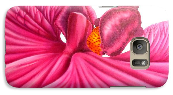 Galaxy Case featuring the painting Pink Lady by Darren Robinson