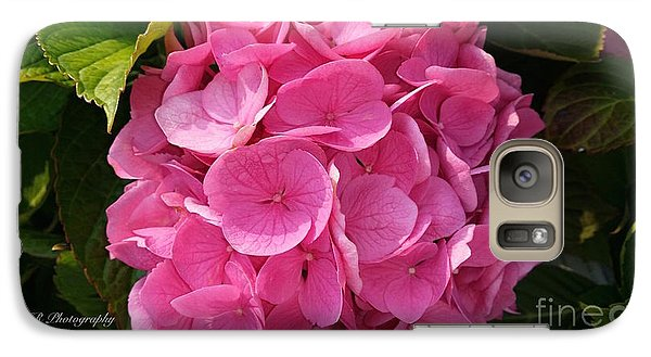 Galaxy Case featuring the photograph Blushing Rose by Jeannie Rhode