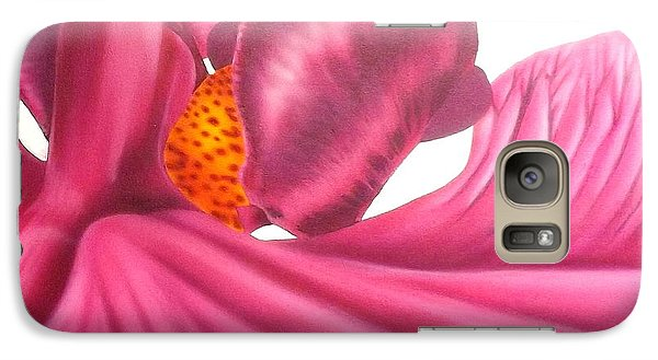 Galaxy Case featuring the painting Pink Lady Square Dance by Darren Robinson