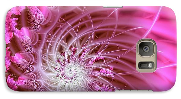 Pink Galaxy S7 Case by Lena Auxier