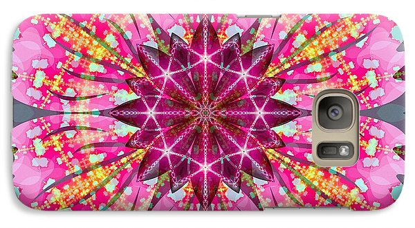 Pink Lightning Galaxy S7 Case