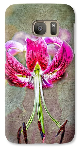 Galaxy Case featuring the photograph Pink Lilly by Mary Timman