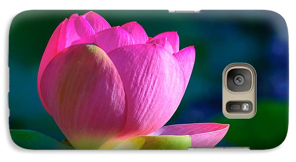 Galaxy Case featuring the photograph Pink Lily by John Johnson