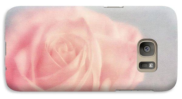 Rose Galaxy S7 Case - pink moments I by Priska Wettstein