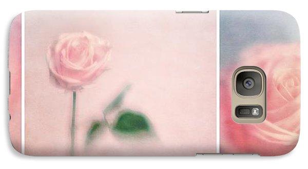Rose Galaxy S7 Case - Pink Moments by Priska Wettstein