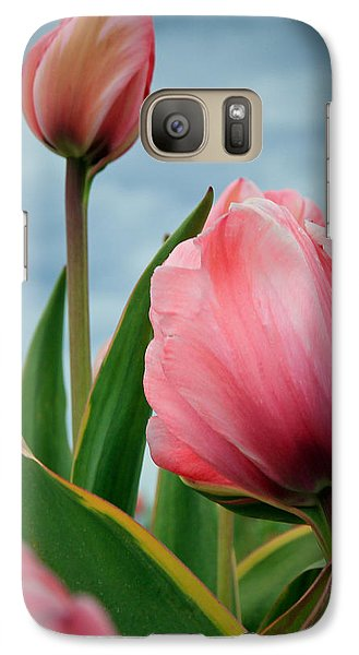 Galaxy Case featuring the photograph Pink Passion by Athena Mckinzie