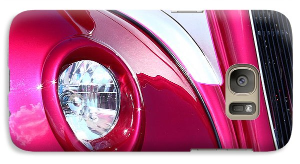 Galaxy Case featuring the photograph Pink Passion by Linda Bianic