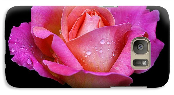Galaxy Case featuring the photograph Pink Pearl by Doug Norkum