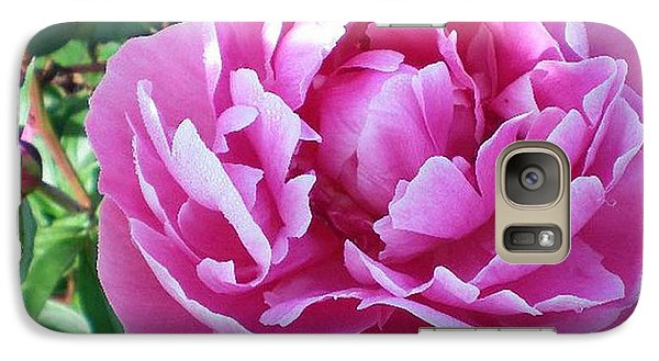 Galaxy Case featuring the photograph Pink Peony by Barbara Griffin