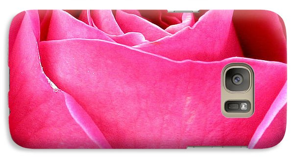 Galaxy Case featuring the photograph Pink Perfection by Paula Tohline Calhoun