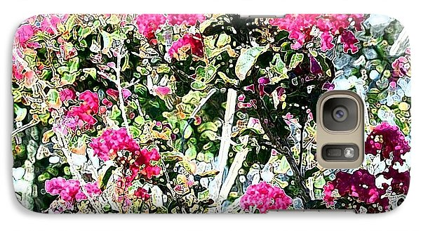 Galaxy Case featuring the photograph Pink Profusion by Ellen O'Reilly