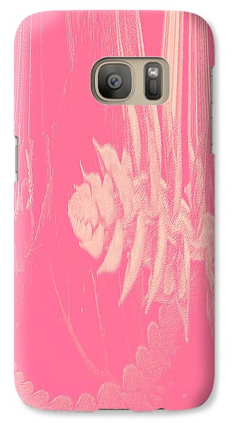 Galaxy Case featuring the photograph Pink by Robert Kernodle