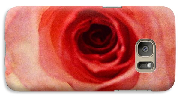 Galaxy Case featuring the photograph Pink Rose by Alohi Fujimoto