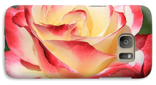 Galaxy Case featuring the photograph Pink Rose by Athala Carole Bruckner