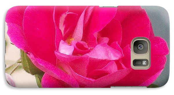 Galaxy Case featuring the photograph Pink Rose by Jewel Hengen