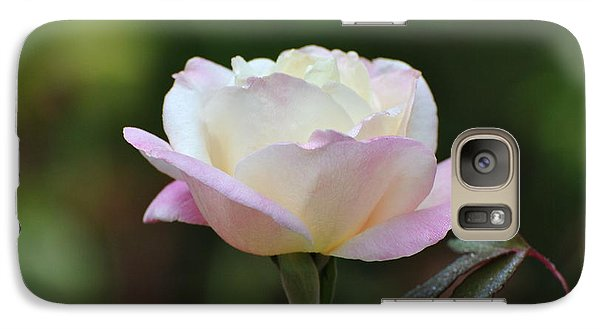 Galaxy Case featuring the photograph Pink Rose by Jodi Terracina