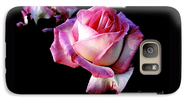 Galaxy Case featuring the photograph Pink Rose  by Leanne Seymour
