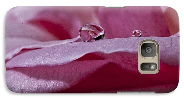 Galaxy Case featuring the photograph Pink Rose by Shirley Mangini