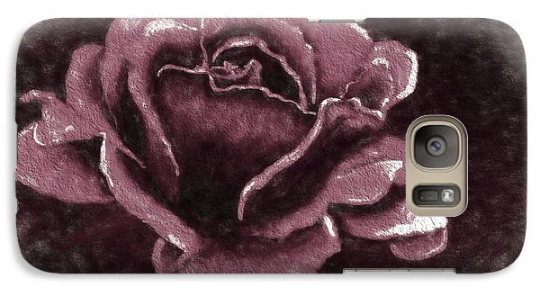 Galaxy Case featuring the digital art Pink Rose by Terry Cork
