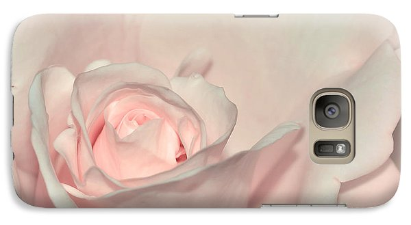 Pink Satin Galaxy S7 Case by Kaye Menner