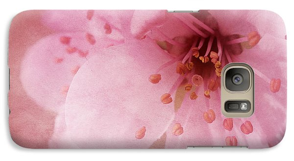Galaxy Case featuring the photograph Pink Spring Blossom by Ann Lauwers