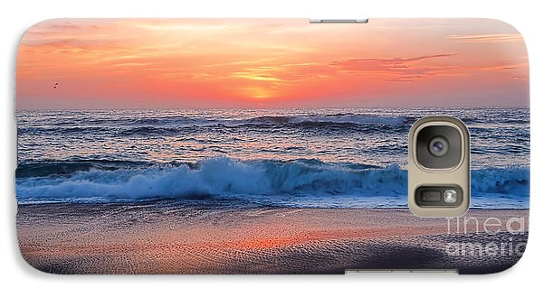 Pink Sunrise Panorama Galaxy S7 Case by Kaye Menner