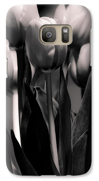Galaxy Case featuring the photograph Pink Toned Tulips by Craig Perry-Ollila