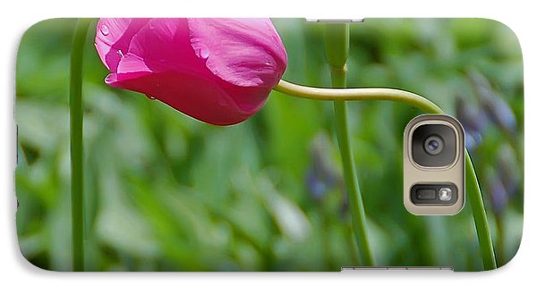 Galaxy Case featuring the photograph Pink Tulip by Aimee L Maher Photography and Art Visit ALMGallerydotcom