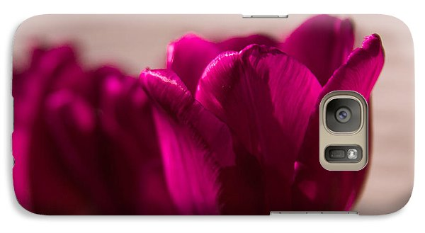 Galaxy Case featuring the photograph Pink Tulip by Erin Kohlenberg