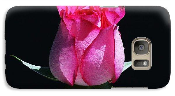 Galaxy Case featuring the photograph Pink Upstart by Doug Norkum