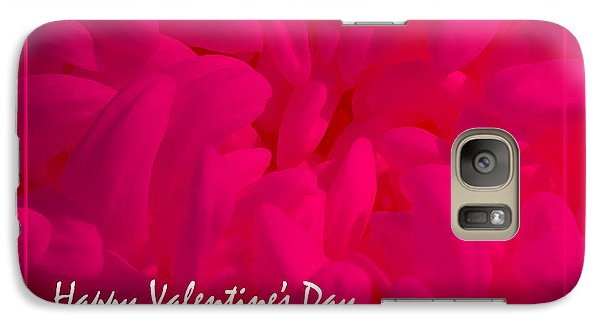 Galaxy Case featuring the photograph Pink Valentine by Cheryl McClure