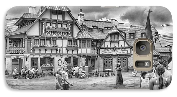 Galaxy Case featuring the photograph Pinocchio's Village Haus by Howard Salmon