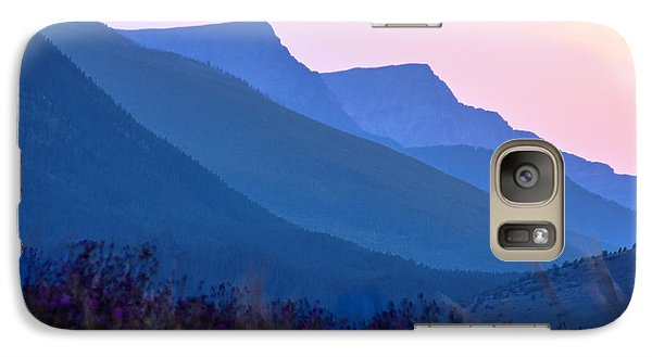 Galaxy Case featuring the photograph Pintlar Mountain Range by Susi Stroud