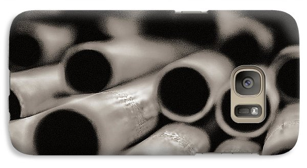 Galaxy Case featuring the photograph Pipes by Arkady Kunysz