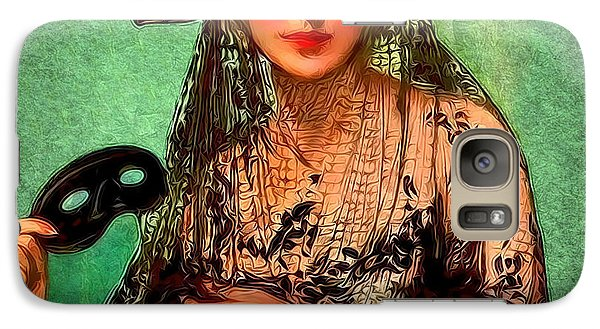 Galaxy Case featuring the digital art Pirate Jenny by Sasha Keen