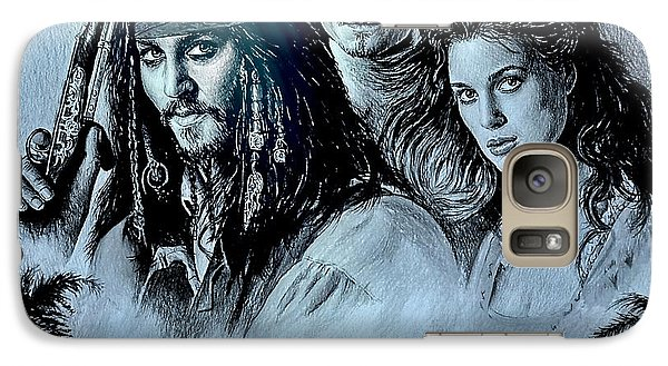 Orlando Bloom Galaxy S7 Case - Pirates by Andrew Read