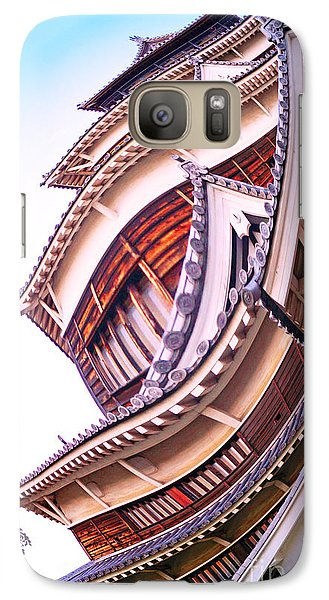 Galaxy Case featuring the photograph Piscean Perspective by Cassandra Buckley