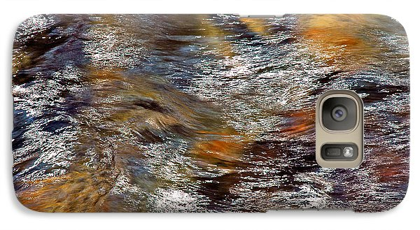 Galaxy Case featuring the photograph Pisgah Forest - Liquid Color by Allen Carroll