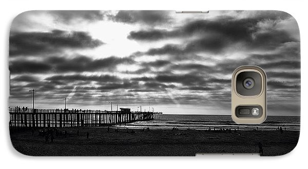 Galaxy Case featuring the photograph Pismo Pier by Joseph Hollingsworth