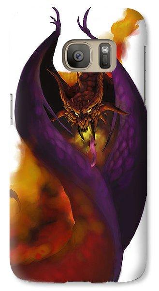Dungeon Galaxy S7 Case - Pit Fiend by Matt Kedzierski